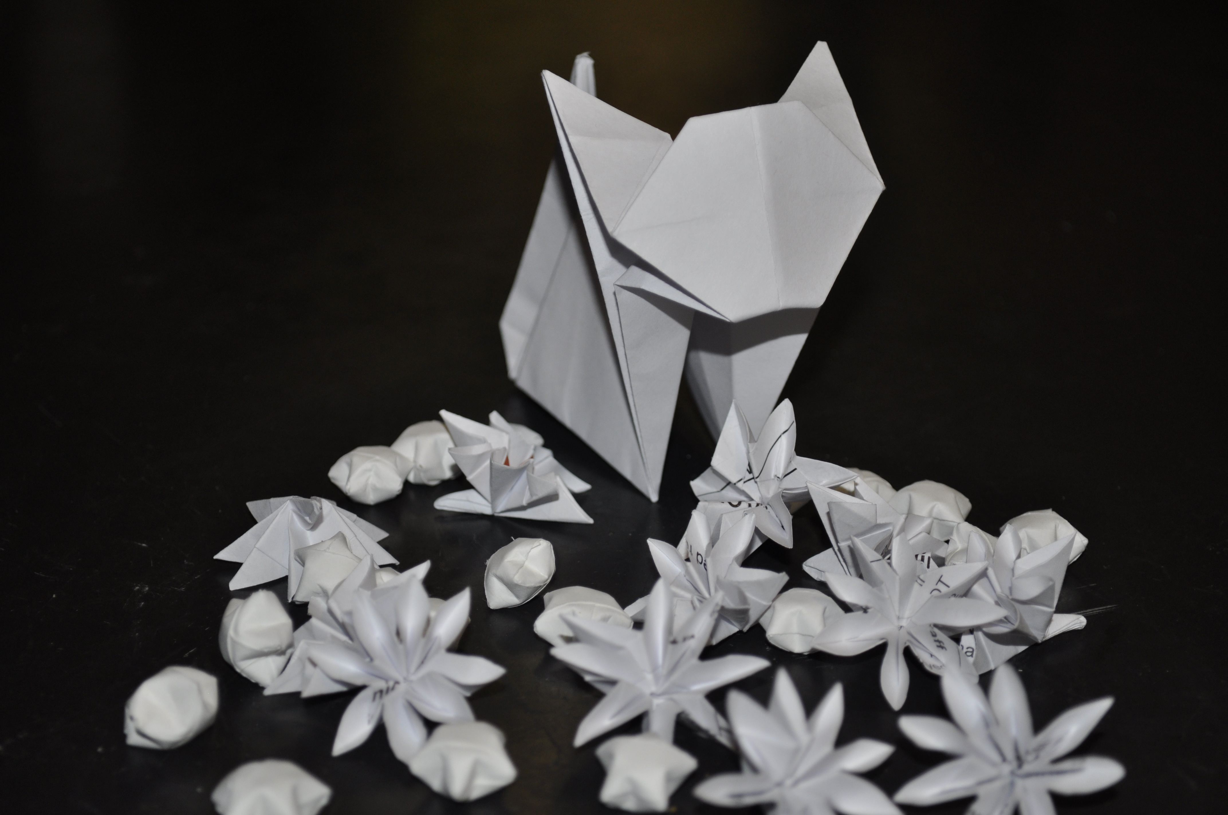 Paper craft and origami tutorial how to make a paper lantern